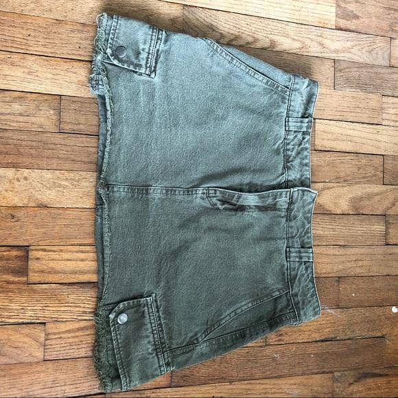 Pull&Bear Dresses & Skirts - H&M cargo mini skirt